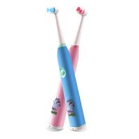 儿童电动牙刷宝宝声波充电式幼儿电动牙刷小孩软毛刷头防水 f6w