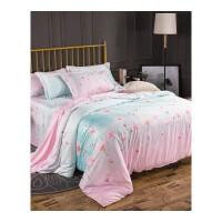 夏天床单四件套夏季冰丝 夏凉丝滑凉爽冰丝被套1.8m双人床上用品