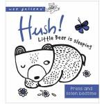 英文原版 Wee Gallery Little Bear Is Sleeping 发音书 儿童互动趣味读物 纸板书