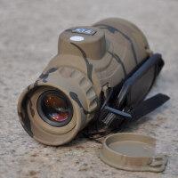 军MD842C单筒望远镜防水防雾用微光夜视带罗盘测距便携 高清