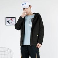 2019秋冬新款机能风外套男ins潮牌衣服工装潮流夹克男休闲宽松