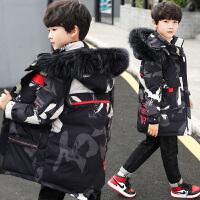 男童冬装棉衣新款中大童洋气外套中长款羽绒儿童装棉袄