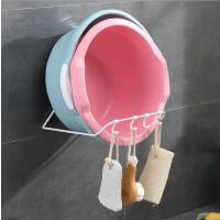 家居不锈钢脸盆架浴室脸盆收纳架置物架厨房免打孔强力挂钩架
