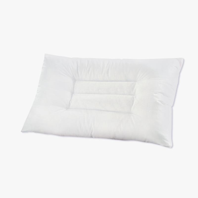 当当优品 纯棉贡缎羽丝绒可水洗枕 枕芯枕头 48*74 白色 当当自营 100%纯棉面料 机洗手洗不易变形 超细羽丝绒填充