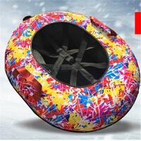 儿童充气滑雪圈雪上飞碟加厚耐磨雪具雪圈雪橇滑雪板滑草滑沙