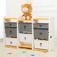 儿童玩具收纳架塑料宝宝分类多层抽屉式整理组合柜幼儿园置储物箱