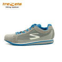 意大利trezeta/山悦男士户外超轻网格旅行鞋徒步鞋休闲鞋