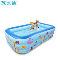 家庭小孩戏水池浴池儿童游泳池加厚充气水池