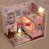 小女孩礼物过家家公主娃娃屋5-12岁儿童玩具