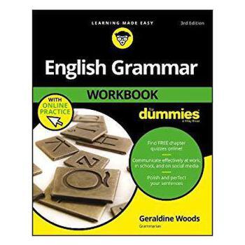 【预订】English Grammar Workbook for Dummies, 3rd Edition with Onli... 9781119455394 美国库房发货,通常付款后3-5周到货!