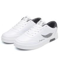 夏季男鞋潮鞋学生小白鞋韩版百搭帆布休闲鞋男士运动鞋子潮流板鞋
