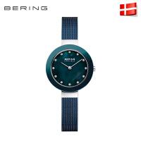 bering白令手表女钢带进口腕表正品水钻时尚气质欧美腕表dw11429