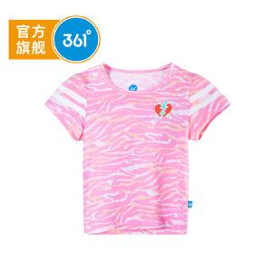 361度 女童短袖针织衫 2018年夏季新款N61824201