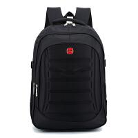 自然鱼新款中学生书包男大容量背包减负电脑背包