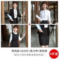 职业装女装新款时尚气质西服正装工作服女士西装套装韩版女潮秋冬