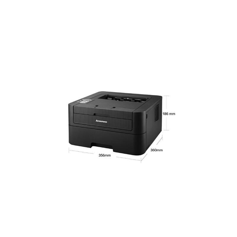 联想(Lenovo)LJ2655DN 黑白激光打印机 有线网络自动双面打印 A4打印 办公商用家用 自动双面打印,多人网络办公