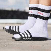 adidas阿迪达斯NEO2018新款中性男鞋女鞋运动休闲拖鞋AQ1701
