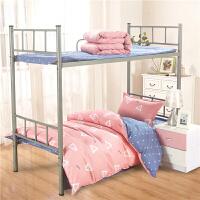 学生被套被单床单三件套床上用品全棉学生宿舍 单人女生纯棉男生