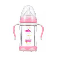 日康双层防暴玻璃奶瓶150ml