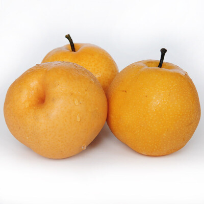 【包邮】山东莱阳梨丰水梨黄金梨子新鲜水果5斤(7个左右)18年新果 脆甜多汁 新鲜采摘 皮薄肉厚