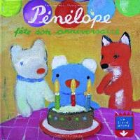 【法语原版】贝贝熊过生日 Pénélope fête son anniversaire 进口法语书