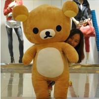 小熊娃娃抱枕生日情人节礼物轻松熊长抱枕公仔毛绒玩具抱抱熊公仔
