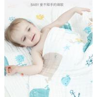 婴儿浴巾纯棉纱布柔吸水家用新生儿童盖毯初生宝宝洗澡毛巾被
