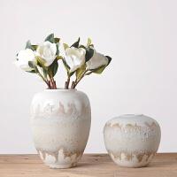 陶罐饰品摆件釉泡陶瓷花瓶陶罐家居软装台面陶器摆件 家居装饰品