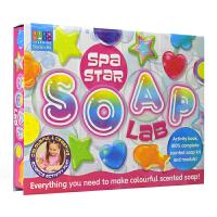 Activity Station Spa Star Soap Lab 卡通形状香皂实验室手工套盒 儿童手工英语玩具书