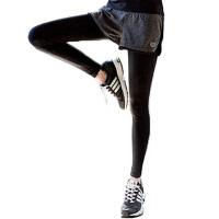 韩瑜伽服女春秋款长袖上衣晨跑速干透气健身跑步休闲运动服