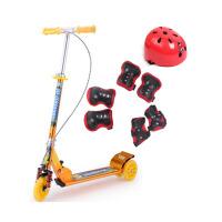 滑板车儿童三轮 大轮双刹车大减震踏板车玩具