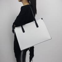 女士大包包简约单肩包大容量真皮女包笔记本电脑包托特公文通勤包