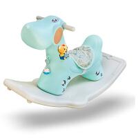 创玩 小鹿儿童摇马木马健身玩具 早教故事机摇摇马车幼儿游乐园儿童房室内户外 +豪华版