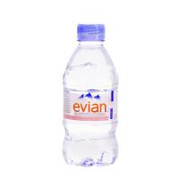 法国进口依云(evian)天然矿泉水330ml*24瓶