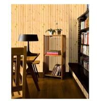 PVC自粘墙纸 带压纹 百搭木纹贴 卧室客厅背景壁纸 10米 2083