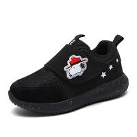 史努比童鞋男童新款休闲透气跑步鞋