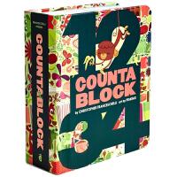 Block Countablock Board Book数数板 英文儿童书籍儿童读物