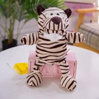 卡通动物手偶嘴巴能动可张嘴儿童玩偶亲子互动玩具手套娃娃 v2b