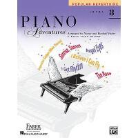 英文原版 菲伯尔钢琴基础教程(3B级):流行曲集 Piano Adventures, Level 3B, Popula