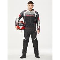骑行服男摩托车衣服套装透气赛车服机车服摩旅夏季骑行裤