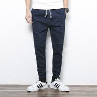 点就 新款长裤水洗中腰铅笔裤小脚牛仔裤 韩版热卖A81
