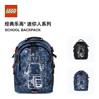 LEGO乐高新款大容量双肩背包男女学生书包休闲轻便减负旅行 20041