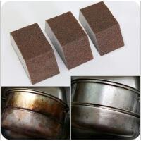 金刚砂海绵擦厨房洗锅去污除铁锈垢海绵擦洗碗清洁海绵