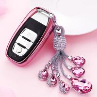 奥迪钥匙包A6L/A8汽车钥匙扣A4L钥匙套A7A5壳S6/S5女Q5