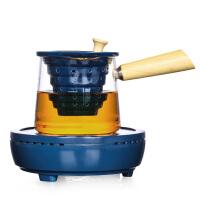 唐丰煮茶器玻璃煮茶壶黑茶电陶炉煮茶炉普洱泡茶壶过滤家用侧把壶