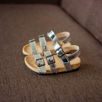 2女宝男宝凉鞋1-3岁夏季韩版公主鞋女童沙滩鞋软底儿童小童鞋2017