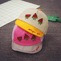 宝宝帽子春夏鸭舌帽女童帽网眼棒球帽男童防晒遮阳帽儿童帽婴儿帽