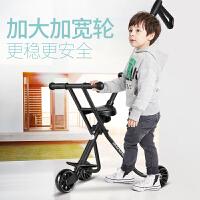 儿童手推车宝宝简易折叠三轮车轻便携遛娃带娃神器