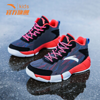 安踏童鞋男童鞋2019春夏季儿童篮球鞋网面透气休闲鞋小学生运动鞋