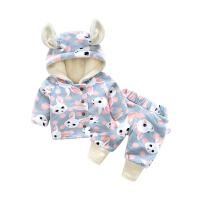 20180506062750303婴儿套装男童冬装加绒加厚保暖女童宝宝冬季套
